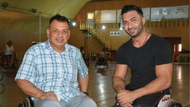 أنقرة التركي يتعاقد مع لاعب  سلة الكراسي علاء احسان