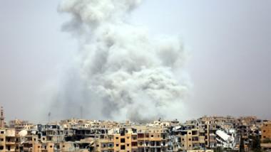 مقتل 42 مدنيا في قصف للتحالف الدولي على مدينة الرقة شمال سوريا