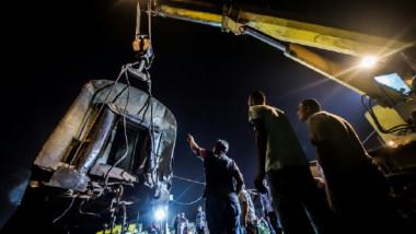مصرع 41 وإصابة 120 شخصاً في حادث تصادم القطارين قرب الإسكندرية