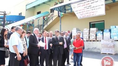 فلسطين تتبرع بالدواء لفنزويلا