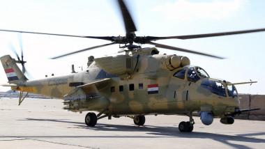 قصف جوي مكثّف بغارات على مواقع منتخبة لداعش في قضاء تلعفر