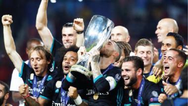 ريال مدريد يهزم مانشستر يونايتد ويتوّج بطلاً للسوبر الأوروبي