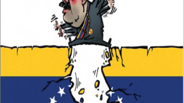 مادورو والأزمة الفنزيولية عن موقع «كارتون سياسي»