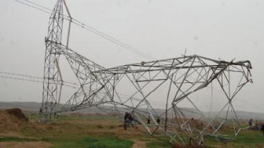 محافظ ديالى يعلن إصلاح خط ميرساد للطاقة بعد تعرضه للتخريب