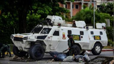 الرئيس الفنزويلي يعلن إحباط «هجوم إرهابي» على قاعدة عسكرية