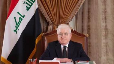 معصوم يهنئ جهاز مكافحة الإرهاب بالانتصارات في الموصل