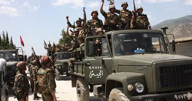 مقتل 25 مسلحا خلال انزال جوي للجيش السوري في وسط البلاد