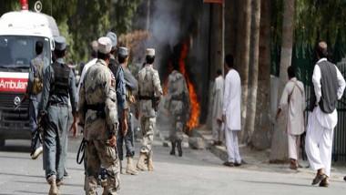 مقتل 5 أشخاص بهجوم انتحاري جنوب أفغانستان