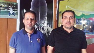 ميثم هاشم وأحمد جاسم مستشاران لـ «المبارزة»