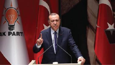 معارضو أردوغان يتعرضون للضرب والدفع خلال خطاب له في فندق بنيويورك