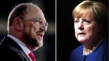 الناخبون الالمان يدلون بأصواتهم في الانتخابات التشريعية