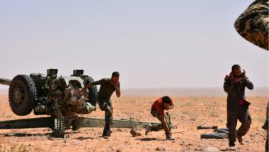 تعزيزات عسكرية الى دير الزور بهدف  طرد تنظيم «داعش « من الأحياء الشرقية