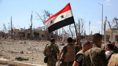 الجيش السوري وبدعم الطيران الروسي  يحرر 85 % من مساحة البلاد من تنظيم «داعش«
