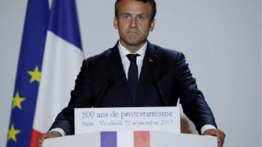 ايمانويل ماكرون يعرض «مشاريعه الأساسية» للاتحاد الأوروبي