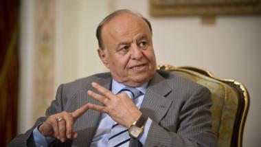 الرئيس اليمني يقول ان الحل العسكري هو «الارجح» لانهاء النزاع