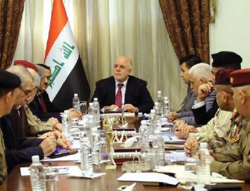 العبادي يعلن انطلاق عمليات تحرير مناطق غربي الأنبار لتطهيرها من المجاميع الإرهابية