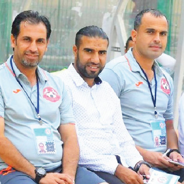 ملاك تدريبي عراقي يقود فريق إخاء أهلي عالية اللبناني