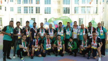 اليوم بدء دورة الألعاب الآسيوية للصالات المغلقة