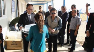 اليابان تمنح مفوضية اللاجئين في العراق 4.5 مليون دولار
