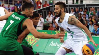 «السلة» يفوز بفضية دورة الألعاب الآسيوية للصالات