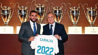 ريال مدريد يحافظ على جواهره كارفاخال آخر المجددين