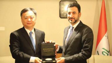 عبطان يستقبل السفير الصيني ويبحث التعاون المشترك بين البلدين