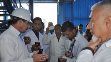 «الفرات» تنجز 50 % من خطة إعمار وتأهيل مصنع الطارق للمبيدات