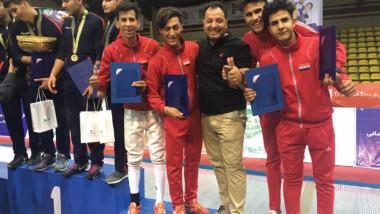شباب المبارزة يحرز المركز  الثالث في بطولة كأس العالم