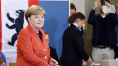 فوز حزب ميركل للولاية الرابعة في الانتخابات التشريعية الألمانية