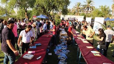بغداد تتصفح الكتب على ضفاف دجلة
