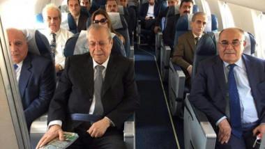 وصول الوفد الكردي الى بغداد