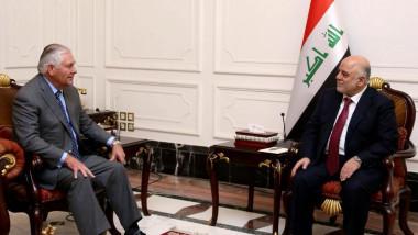 العبادي لتيلرسون: الحكومة العراقية لا تريد خوض معركة مع أي مكوّن