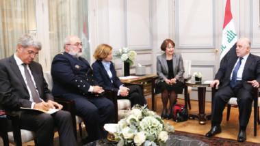 العبادي يحقق نجاحاً في باريس بتسريع العمل في تسليح القوّات العراقية