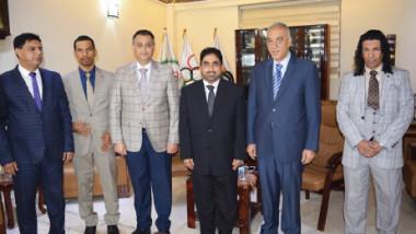 العراق يضيّف بطولة  الصداقة الدولية لألتقاط الأوتاد