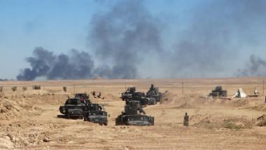 """القوات المشتركة تكثّف انتشارها في الصحراء الغربية لمحافظة الأنبار استعداداً لتحرير آخر ملاذات """"داعش"""""""