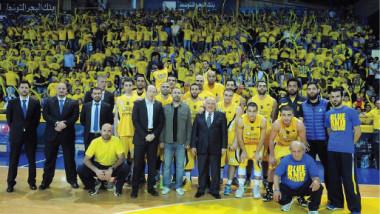 الرياضي اللبناني يحرز كأس أندية آسيا بالسلة