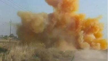 إحباط محاولة لاستهداف المواطنين بغاز الكلور في بغداد