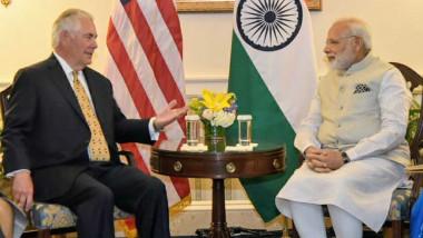 تيلرسون يلتقي رئيس وزراء الهند لـ»تعميق» العلاقات الاقتصادية والاستراتيجية