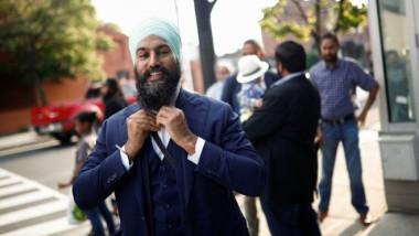 مواطن من السيخ يفوز بزعامة الحزب الديمقراطي الجديد بكندا