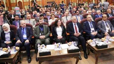 انطلاق أعمال المؤتمر العلمي الأول لإعادة إعمار المناطق المحررة