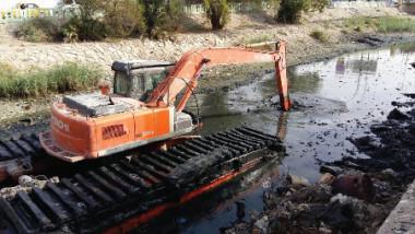 حققنا نسب إنجاز متقدمة جدا في كري وتطهير نهري العشار والخندق