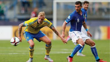 السويد بمواجهة إيطاليا.. قمّة في ملحق أوروبا المؤهل لمونديال روسيا 2018