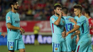 أرناييز يتألق ويقود برشلونة لفوز سهل على مورسيا بكأس الملك