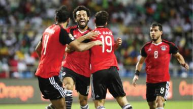 مصر تهزم الكونغو وتبلغ نهائيات كأس العالم 2018