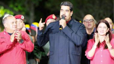 الرئيس الفنزويلي يعلن فوز حزبه في الانتخابات المحلية والمعارضة ترفض النتائج