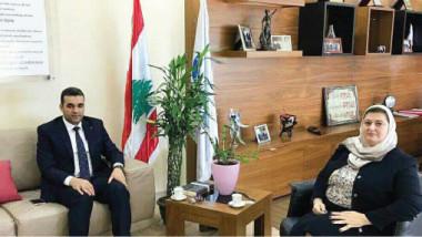 كلية الإمام الكاظم تسعى الى توسيع التعاون مع الجامعة الإسلامية في لبنان