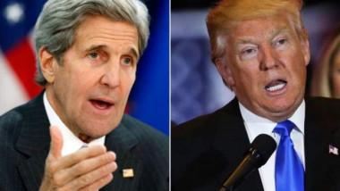 كيري يصف قرار ترامب حول الاتفاق النووي مع إيران بالمتهور والأناني