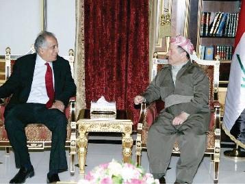 زلماي خليل زاد يحرّض واشنطن ويدعوها للتدخل ضد العراق