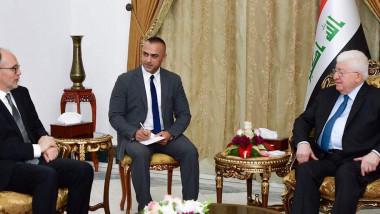 معصوم يؤكد للسفير الأميركي أهمية الحفاظ على الوحدة الوطنية