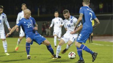 آيسلندا تبلغ كأس العالم لأول مرة في تأريخها